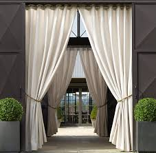 fashionable idea sunbrella curtains sunbrella dry outdoor patio area on each side of porch or canada cilantro and window treatments 108 120 with