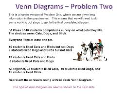 2 circle venn diagram problems draw venn diagram word problems worksheet in tropicalspa co