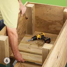 fit the slats around the legs and secure with s