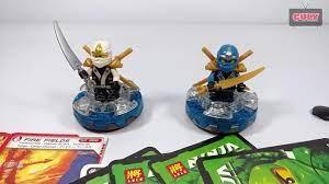 2 Bộ Lego Ninjago Zane Và Jay Đứng Trên Con Quay Đồ Chơi Trẻ Em ...