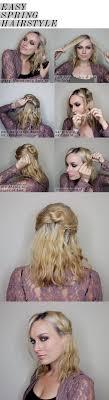 Easy Spring Half Updo For Medium Length Hair Citizens Of Beauty