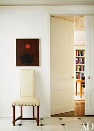 1950S Interior Design Stunning Adolph Gottlieb's Painting Looping 48 Meets A 48s Jacques Adnet