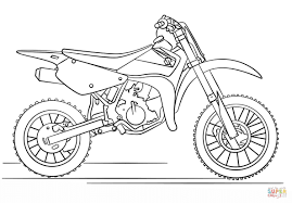 Small Picture Dirt Bike Coloring Pages Ppinewsco