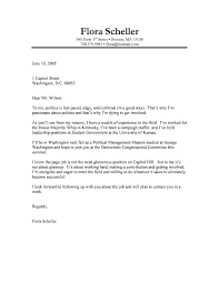 Examples Of Written Cover Letters Sample Cover Letters For