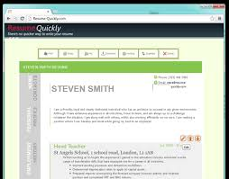 Resume Online Builder Impressive Free Resume Builder Websites And Applications The Grid System