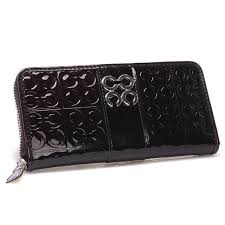 ... Coach Logo Monogram Large Coffee Wallets CHM Give You The Best feeling!