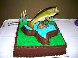 Fish Themed Birthday Party Fishing Birthday Cake Free Fish Themed