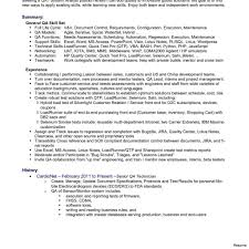 Qa Tester Resume Sample Testing Resume Sample 100 Software Tester With In Qa Manual 100a 58