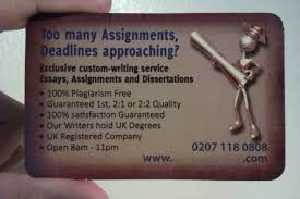 illegal essay writing service offered outside university  the
