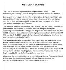 sample of obituary 25 free obituary templates and samples free template downloads