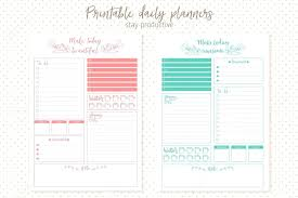 Daily List Templates Template Planners Template 24