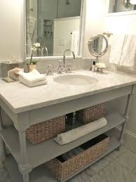Bamboo Vanity Bathroom New Painted Open Bathroom Vanity Home Master Bathroom Pinterest