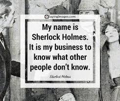 40 Best Sherlock Holmes Quotes SayingImages Delectable Sherlock Holmes Quotes