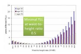 Hip To Waist Ratio Chart Importance Of Waist Circumference Waist To Height Ratio