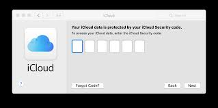 Icloud Security Code Approve This Mac Using Another Device Ask Different