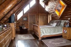 Loft For Bedrooms Log Home On Northfork Stately Loft Master Bedroom Log Home
