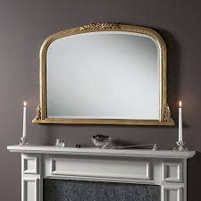 overmantle gold ornate mirror 102 x