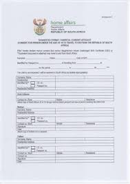 home affairs south africa consent letter for children travelling abroad