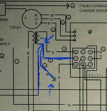 no c wire connection on old goodman furnace home improvement Goodman Furnace Wiring Diagram enter image description here goodman furnace wiring diagram for a/c units