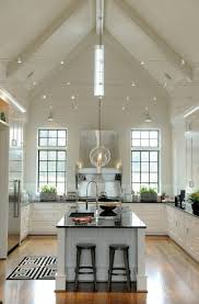 lighting cathedral ceiling. Cathedral Ceiling Kitchen Lighting Ideas Track Vaulted Island With H