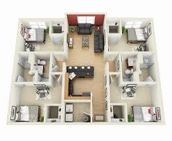 plano de casa con cocina lia43