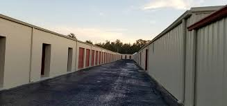 a wide option of storage units