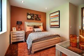Painting Accent Walls In Bedroom Accent Wall Paint Pattern Ideas Reounded Blue Armchair Two Wooden