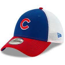 Chicago Cubs Practice Piece 39thirty Flex Hat By New Era