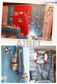 Decorative Fish Netting Aliexpresscom Buy 12m24m Blue White Fishing Netbar 3d Wall
