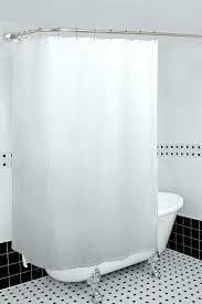 shower curtain rod for corner plastic