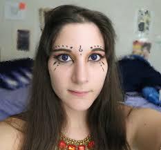 tribal belly dance eye makeup