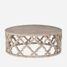 nixon coffee table attractive carved quatrefoil coffee table