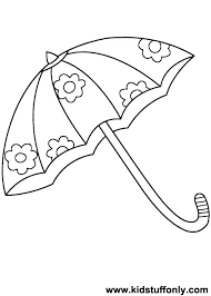 Small Picture Umbrella Coloring Pages KId Stuff Only