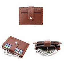 PU кредитная карта мини <b>держатель сумки</b> ID кожаный кошелек ...