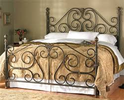 iron bedroom furniture. click image for info on wesley allen iron beds bedroom furniture