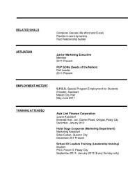 resume skills computer literate essay on literacy narrative - Computer  Literacy Resume