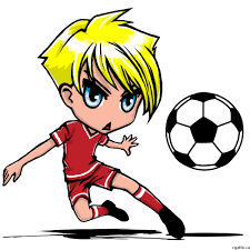 playing cartoon how to draw a cartoon football player image group 57