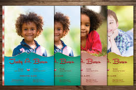 Child Funeral Program Template Child Funeral Program Template By Godserv Designs TheHungryJPEG 5