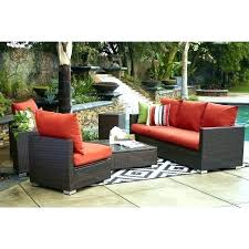 outdoor furniture with sunbrella rain fabric cushions
