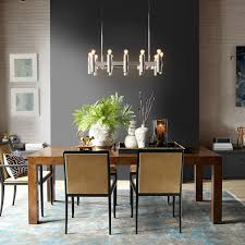 linear chandelier dining room on linear chandelier dining room