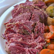slow cooker corned beef recipe by