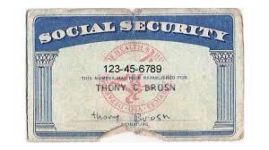 Social Card Security - White golfclub