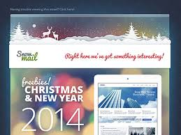 Free Christmas Website Templates Free Xmas Email Templates By Gt3themes Com On Dribbble