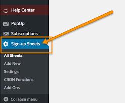 Create Sign Up Sheet Create A Volunteer Sign Up Sheet Digital Pto Help Center