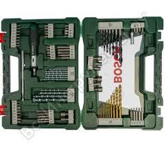 <b>Набор принадлежностей</b> V-line (91 шт.) <b>Bosch</b> 2607017195 ...