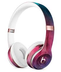 Light Pink Beats By Dre Vivid Pink 869 Absorbed Watercolor Texture Full Body Skin