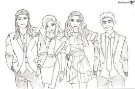 Pin By Malissa Payne On Color Sheets Descendants Coloring Pages