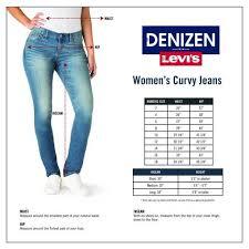 Denizen From Levis Womens Curvy Slim Jeans Blue Ice 4