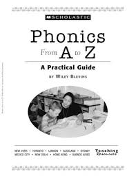 Phonics Generalizations Chart Phonics From A To Z By Wiley Blevins 2nd Edition By Allison
