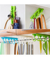 wowobjects kitchen utensils rack holder hook ceiling wall cabinet hanging storage organizer wowobjects kitchen utensils rack holder hook ceiling wall
